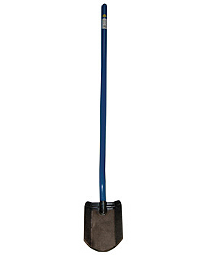 "12""Long Handle Shovel w/Flat Center Blade"