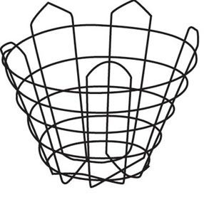 "30"" Cone Wire Basket"