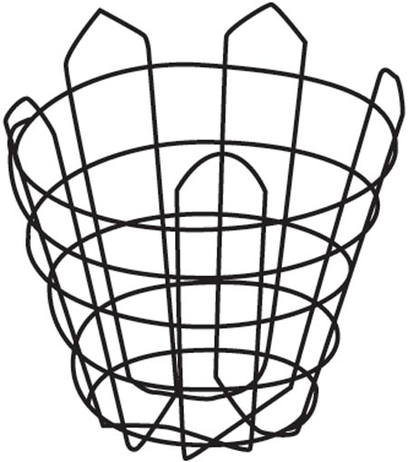 "40"" Truncated Wire Basket"